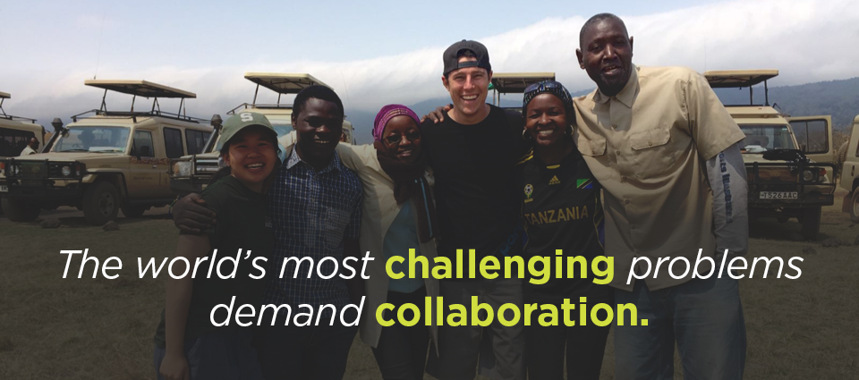 The world's most challenging problems demand collaboration