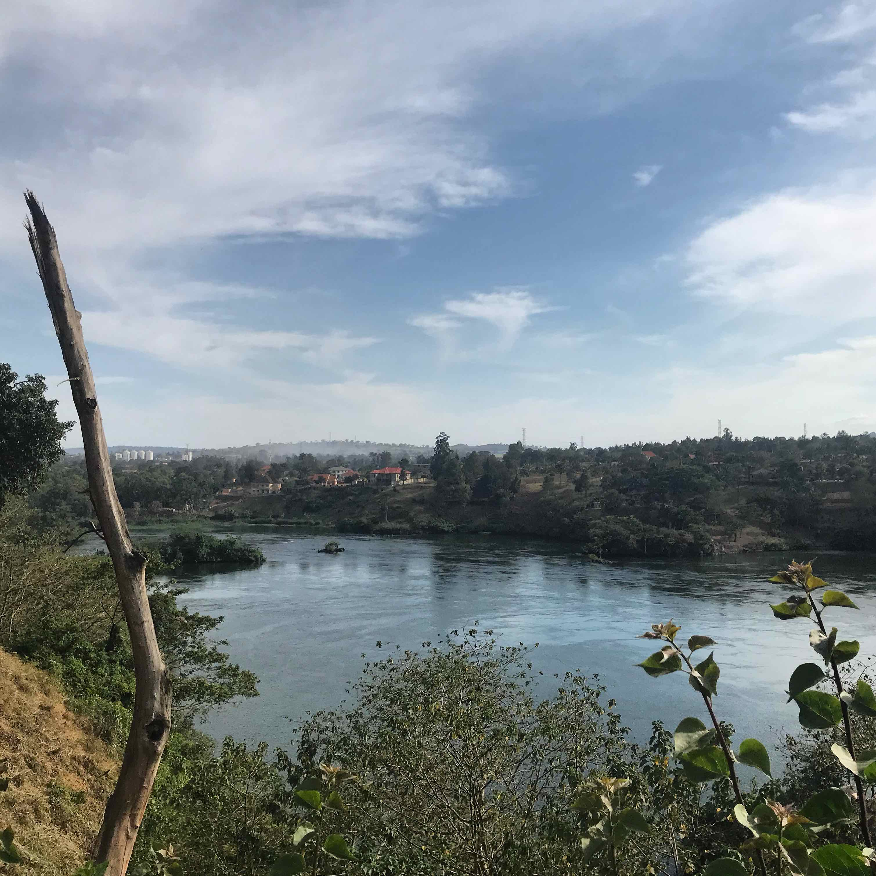 The Nile River near Jinja, Uganda